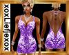 [L] Glam Purple Dress
