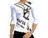 (A) White Mafia Shirt