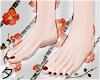 💕Perf Feet [Crimson]
