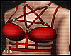 ♔ Harness Silver&Red