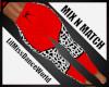 Mix N Match Red Cow Leg