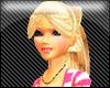 blondeNpink long hair