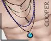 !A hippie unisex necklac