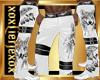 [L] WOLF White Pants M