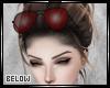 Ƀ. Red Sunglasses