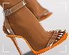 ṩEsha Heels Orange