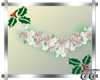 White Christmas Garland