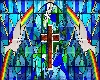 *CG*Stained glass pane