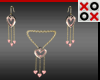 Valentine Jewels Set