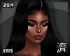 !E! Mercedes Wig BLACK