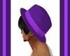 `cc`hair hat purple