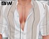 Beige Stripes Shirt L