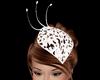 White Wedding Hat