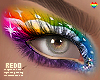 Rainbow eyeshadow - Zell