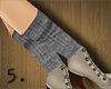 5. Hockey Socks ~ Grey