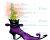Witchboot sticker Purple