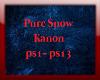 Pure Snow Kanon