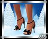 Leann Black Sandals