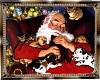 Santa FAst Asleep