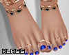 K! Layla Pedi + Jewels
