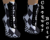 Chequer Sturdy Boots