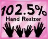 Hand Scaler 102.5%