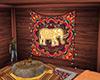 Boho Elephant Mandala