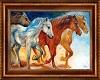 Stampede Horse Art