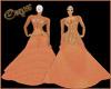 (XXL)Peach Dress 1