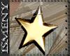 [Is] Gold Star Earrings