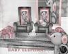 BABYSHOWER ELEPH THRONE