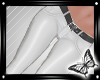!! White Leather Pants