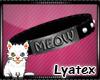 Ⓛ Meow | M |