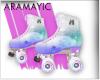 Pastel Galaxy Skates