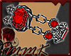 MMK Blood Ruby Bangles