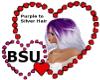 BSU Prple to Silver Hair