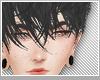 ♡cute black hair♡