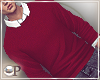 Darell Red pullover