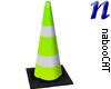 Traffic Cone tall green