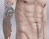 D| Peacock Arm Tattoo
