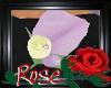 Purple Rose Lapel Flower