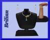 [B] Teal Blue Jewel Set