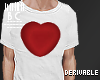 B* Drv 3D Heart T-shirt