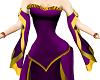 DNE Vibrant Violet Gown