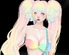 Pastel Pigtails Layer 3