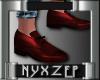 No Socks Mens Shoe Red