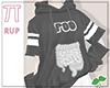 |Pi| Poo Black Sweater