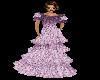 Lavender Tierd Gown