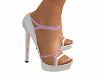 Summer White & Pink Heel