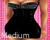 Spike PVC Dress - Medium